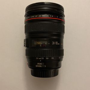 Canon EF 24-105mm f/4L IS USM Lens for Sale in Hialeah, FL
