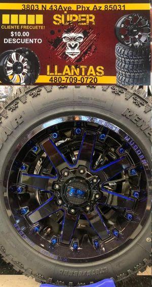 22x12Rines y Llantas for Sale in Phoenix, AZ