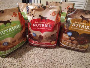 (5) Rachael Ray Nutrish Dog Food 6 lb bags for Sale in Powder Springs, GA