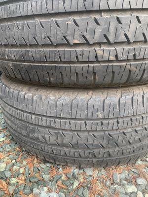 275/55-20 Bridgestone Dueler $100 for Sale in Galt, CA