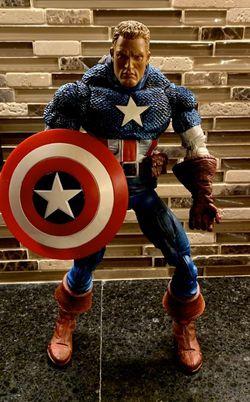"Toybiz Marvel Legends Captain America 12"" Action Figure for Sale in Emmaus,  PA"