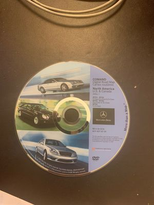 OEM Mercedes navigation DVD like new for Sale in Cypress, CA