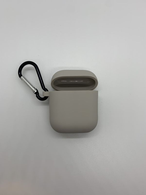 Light grey air pod case