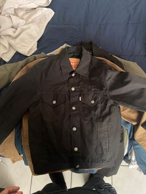 Levis black moto jacket for Sale in Cathedral City, CA