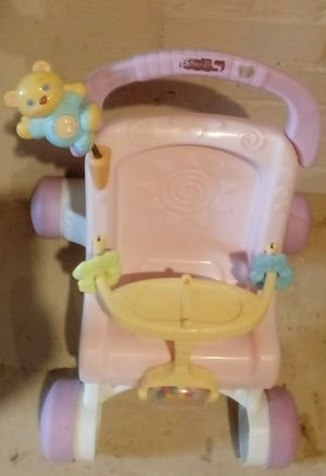 Kids baby doll stroller with toys attatched for Sale in Painesville, OH