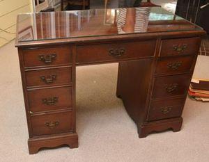 Antique Mahogany Knee Hole Desk for Sale in Atlanta, GA