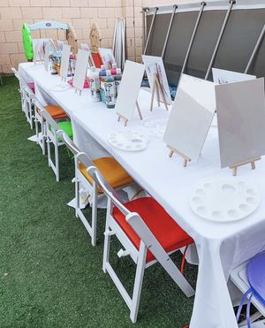 Canvas painting table KIDS DREAM PARTY for Sale in Avondale, AZ