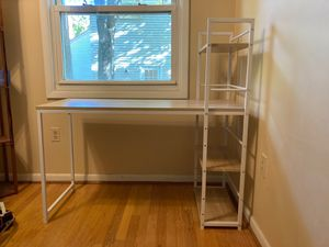 """Desk from Amazon 47.5"""" W x 19"""" D x 28.5"""" H for Sale in McLean, VA"""
