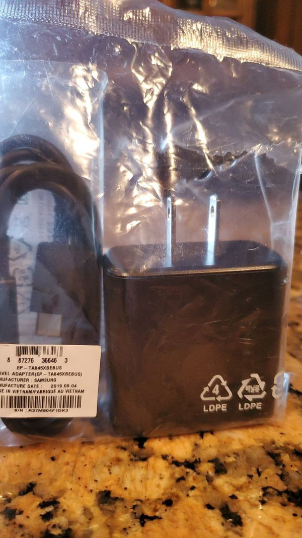 Samsung super fast wall charger