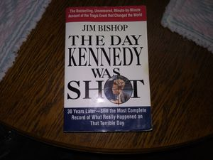 The Day Kennedy Was Shot by Jim Bishop for Sale in Edmonds, WA