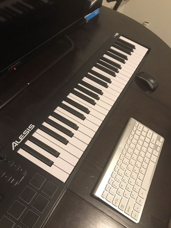Alesis usb midi controller keyboard