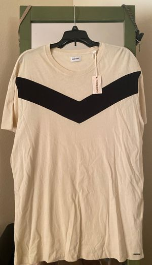 Diesel men's t shirt xxl but fits like xl or even large for Sale in San Diego, CA