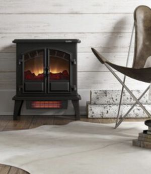 New - 5200-BTU Infrared Fireplace with Thermostat for Sale in Centreville, VA