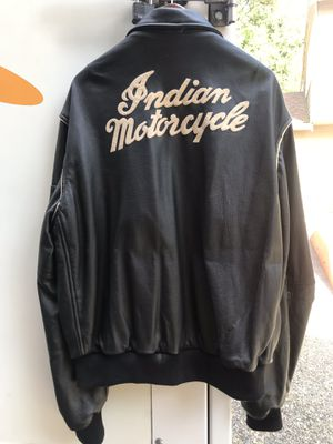 Indian motorcycle jacket for Sale in Auburn, WA