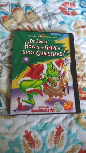 Dr. Seuss How the Grinch Stole Christmas/Horton Hears a Who DVD for Sale in Whittier, CA