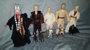 Star Wars Lot of Action Figures Figurines Dolls Toys for Sale in West Deptford, NJ