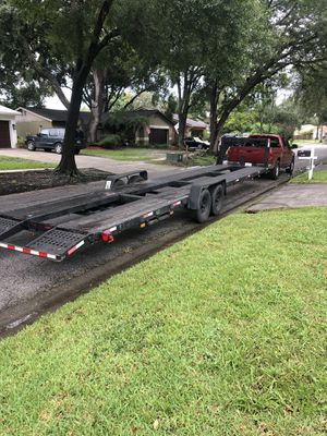 2016 Trailer for 2 cars large for Sale in Tampa, FL