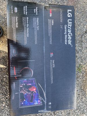 LG HIGH QUALITY GAMING PC MONITOR ULTRAGEAR 144HZ 1MS! for Sale in Johnston, RI
