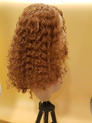 Long Brown Curly Wig for Sale in Hudson, FL