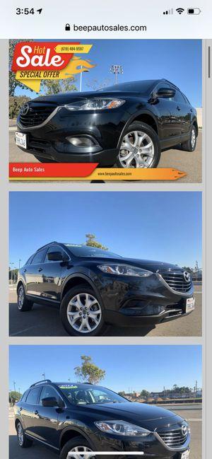 2014 Mazda CX-9 💯🇲🇽✍️👍😷✅ for Sale in National City, CA