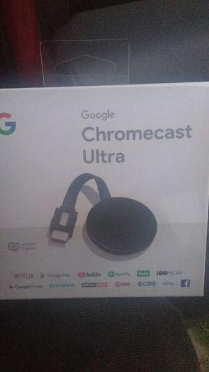 Chromecast ultra for Sale in San Antonio, TX