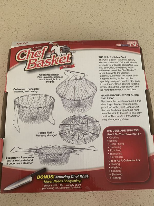 Original Chef Basket brand new
