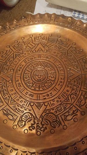 Aztec Sun Plate for Sale in Chicago, IL