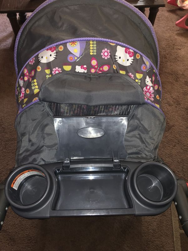 Hello Kitty Baby Stroller