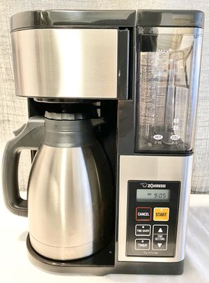Zojirushi Coffee Maker, 10 Cup, Stainless Steel/Black for Sale in Las Vegas, NV