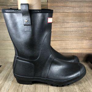 Hunter Original Short Rubber Rain Boots Mens Size 12 for Sale in Orlando, FL