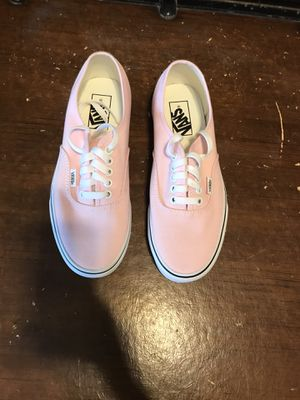 Women's pink vans size 8 $40.00 brand new never worn for Sale in Imperial, CA