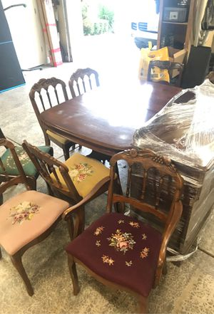 Antique table set for Sale in Portland, OR