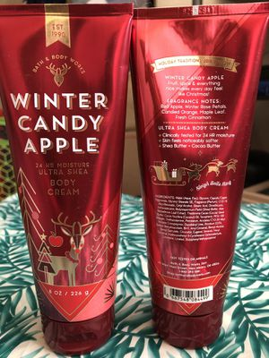 Winter Candy Apple 24 HR Moisture Ultra Shea Body Cream 8 Oz. for Sale in North Las Vegas, NV
