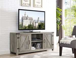 """58"""" Contemporary 58"""" Door TV Stand with Side Doors for TVs up to 65"""" for Sale in Oroville, CA"""