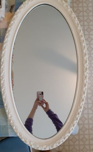 White wall mirror for Sale in Uxbridge, MA