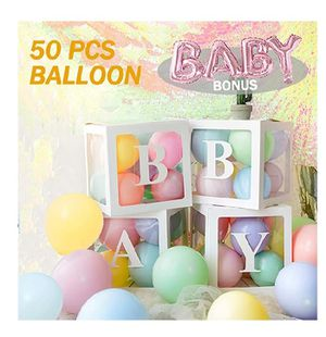 BABY Decoration Balloon Boxes kit for Sale in Cleveland, OH