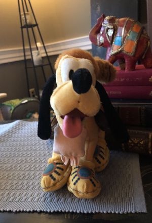 Disney Pluto frontier style beanie plushie for Sale in Wall Township, NJ
