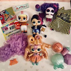 4 lol Surprise Dolls And A Pet for Sale in Torrance,  CA