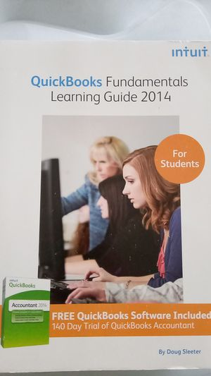 QuickBooks Fundamentals Learning Guide 2014 for Sale in Sioux Falls, SD