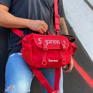 🔴 Red Supreme SS20 Crossbody Shoulder Messenger Waist Bag Fanny Pack for Sale in Orlando, FL