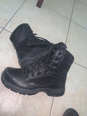 Interceptor steel toe size 9 $20! Worn Once for Sale in Hialeah, FL