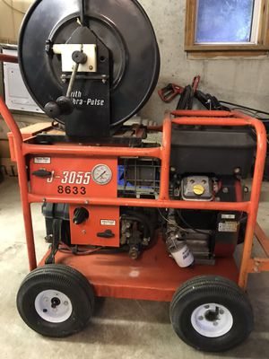 Gas Jet Drain Cleaning Machine JM-3055 for Sale in Peabody, MA