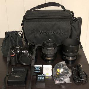 Nikon D3200 Full Kit for Sale in Laurel, MD