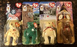 Rare 1999 TY Beanie Babies Set of 4 for Sale in Rancho Cordova, CA
