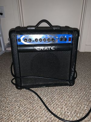 Crate amp for Sale in Tacoma, WA
