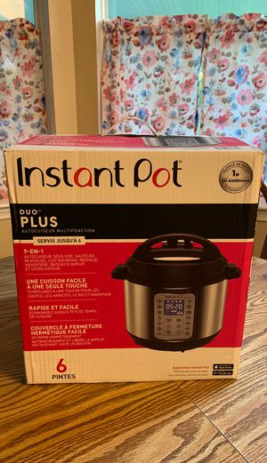 Instant Pot Duo Plus 9 in 1 for Sale in Kemah, TX
