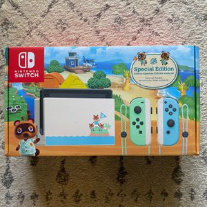 Nintendo Switch Animal Crossing Edition - NEW for Sale in Doral, FL