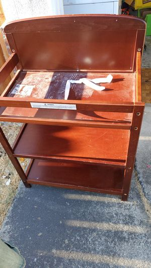 Cherry wood changing table for Sale in Berkeley, CA