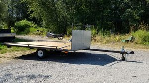 Snowmobile - ATV - motorcycle trailer for Sale in Sumner, WA