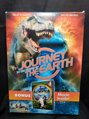 Journey to the center of the earth bonus pack by Hallmark Entertainment for Sale in Zanesville, OH